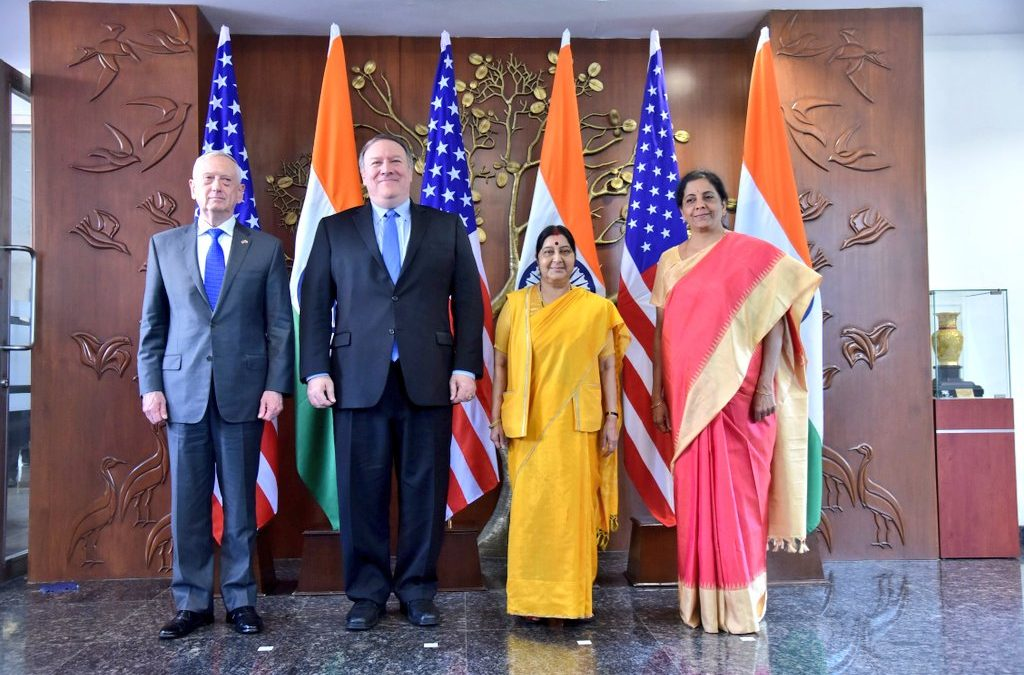 India inks Communications, Compatibility, Security Agreement with USA