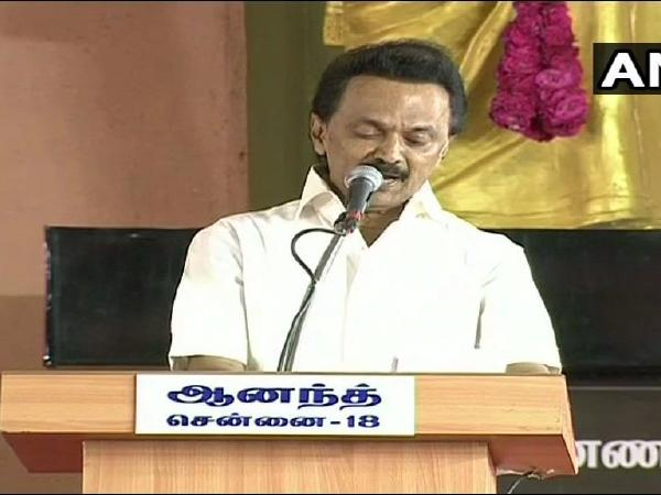 'I propose Rahul Gandhi's name for the prime ministerial candidate,' says DMK chief MK Stalin
