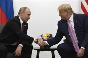 Trump hails 'very, very good relationship' in talks with Putin