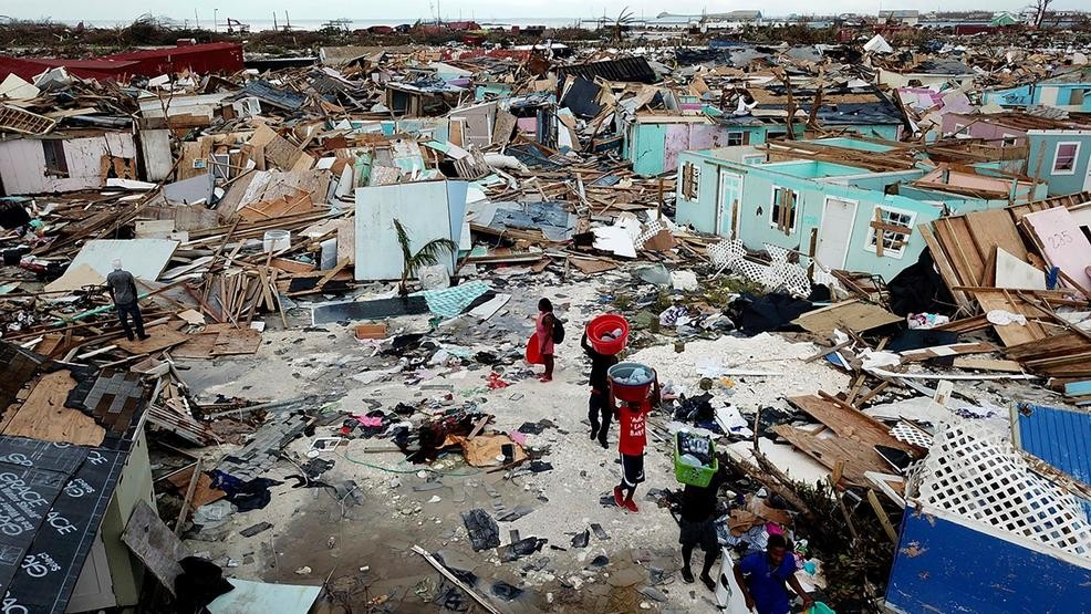Death toll from hurricane Dorian in the Bahamas reaches 30 people