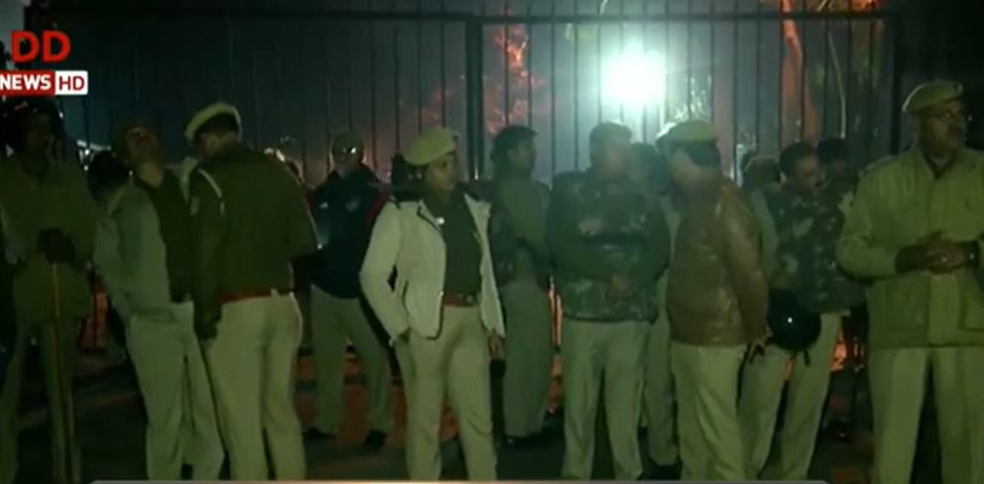 Clash breaks out between two groups of students' in JNU