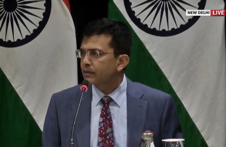 India reiterates that there is no role for any third party on Kashmir issue