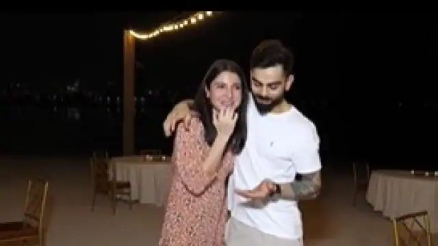 After knowing the news of becoming a father, there is something like Virat Kohli's reaction